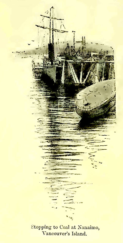 fromshoresalpsofalaskaseton Historical drawings of Nanaimo by Heyward Seton Karr