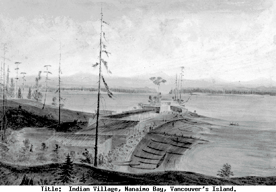 painting by James Alden -1858 from BC Archives