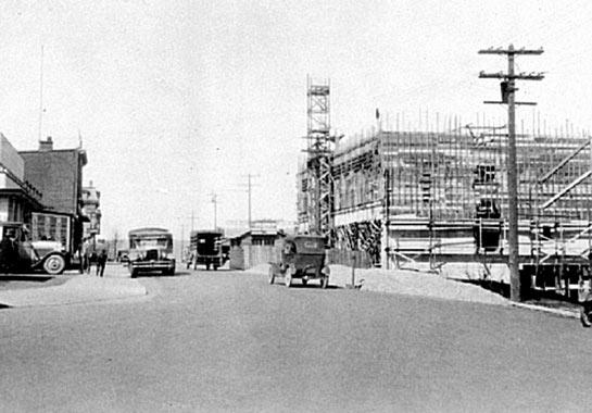 Building Malaspina Hotel Nanaimo BC -1927