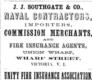 J. J. Southgate & Co. - 1863 BC & Victoria Directory